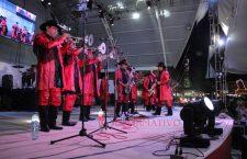 Banda Mach revivió recuerdos en Feria de Huajuapan