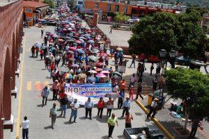 Continuará S-22 protestas hasta abrogación de la reforma educativa