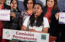 Reforma a la Ley Orgánica, un paso firme por los derechos de las mujeres: EMA