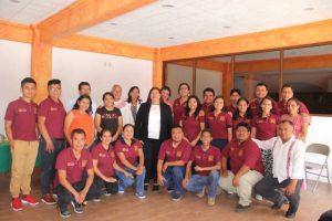 Reciben a la Delegación del Jarabe Mixteco después de su presentación en la Guelaguetza 2019