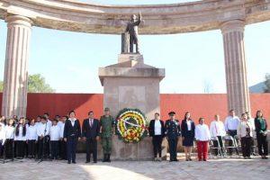 En Sesión Solemne de Cabildo honran memoria de Juárez en Huajuapan