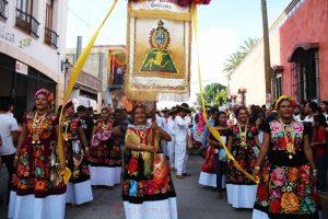Presentaron Guelaguetza en Huajuapan de León