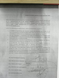 Contratistas que reconstruyen escuelas en el Istmo reclaman pago por más de 7 millones de pesos