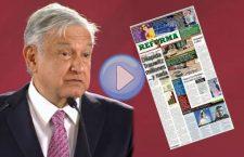 VIDEO: ¡Otra vez! Reforma exhibe a Obrador y lo deja como un mentiroso