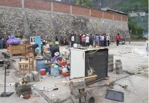 Destruyen su casa y le roban 150 mil pesos