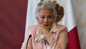 Olga Sánchez afirma que el gobierno no meterá las manos en caso Rosario Robles