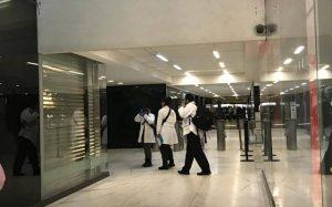 Imágenes de presuntos asaltantes de la Casa de Moneda