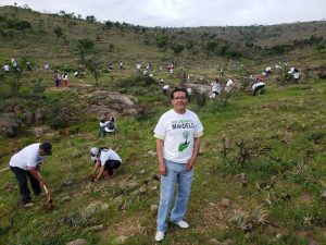 Se ha reforestado con 62 mil plantas en Huajuapan