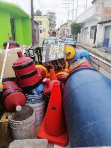 Continúa recuperación de vías públicas en Huajuapan