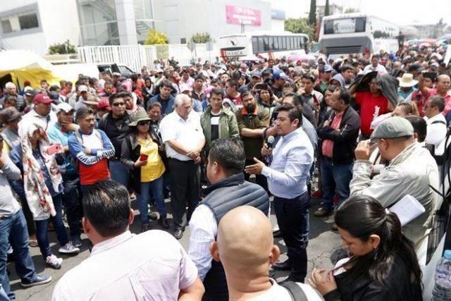 Niega Lopez Obrador presión de la CNTE