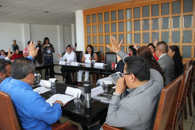 Concejales aprueban la obra: segunda etapa de Rehabilitación del Palacio Municipal