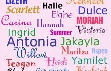 Nombres a los hijos por moda