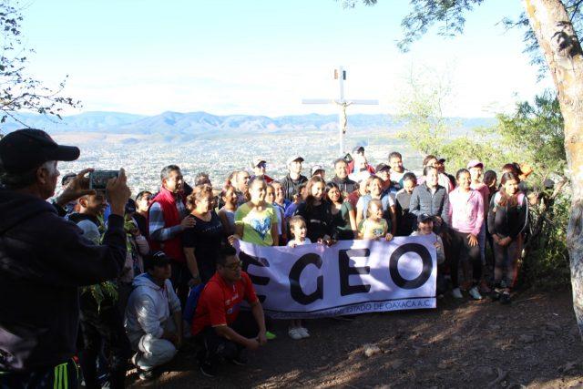 Promueven con sector empresarial de Oaxaca caminata al Cerro del Yucunitza