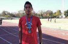 Estudiante de la UABJO gana plata en Espartaqueada Deportiva Nacional