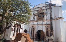 """Descubren """"tesoros arquitectónicos"""" en restauración de conjunto conventual en Tehuantepec"""