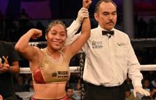 Oaxaqueña Luz Elena «La Guerrerita» Aguilar derrota aex campeona mundial
