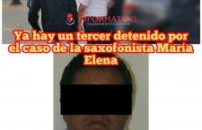 Ya hay un tercer detenido por el caso de la saxofonista María Elena R. O.
