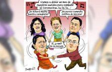 #COLUMNA de María de los Ángeles Nivón / @Gelosnivon    Protagonismo electoral de Morena en tiempos de pandemia, es mezquindad; Al desnudo aguda crisis de salud en Oaxaca, no hay insumos