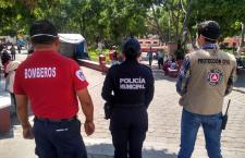 Bomberos y PC de Huajuapan en cuarentena, tras dar positivo a Covid-19 un tragahumo