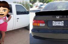 Hurtan camioneta y vehículo en menos de 24 horas en Huajuapan