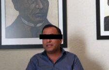Detienen a exfuncionario de Sefin en Administración de Gabino Cué