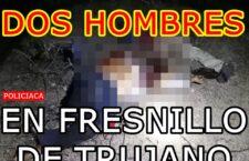 Ejecutan a dos hombres que viajaban en un automóvil en Fresnillo de Trujano