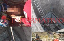 Accidente en pozo, deja un muerto y un herido en Huajuapan