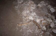 Áreas de Antropología y Criminalística, analizan osamentas encontradas en Huajuapan