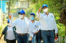Luis de León candidato común del PRI y PAN, plantea obras para impulsar el desarrollo social de Huajuapan